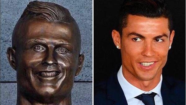 Ronaldo'nun heykeltıraşından