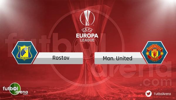 Rostov - Manchester United maçı saat kaçta, hangi kanalda? Rostov Manchester United şifresiz canlı veren uydu kanalları
