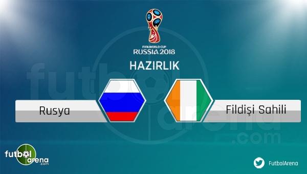 Rusya Fildişi Sahili hazırlık maçı saat kaçta, hangi kanalda? (Rusya Fildişi Sahili şifresiz canlı izle imkanı var mı?)