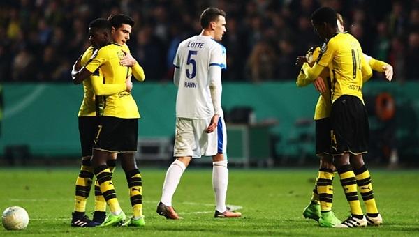 Sportfreunde Lotte 0-3 Borussia Dortmund maçı özeti ve golleri