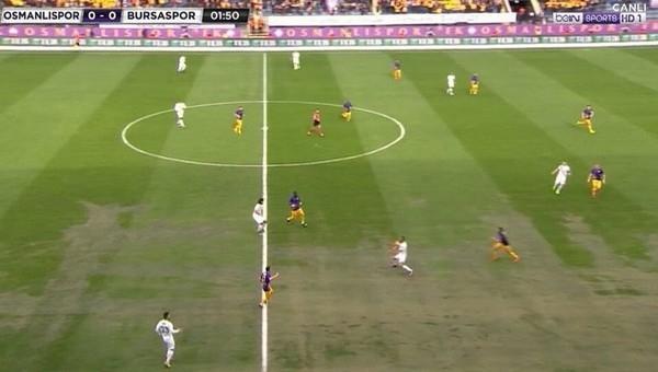 Süper Lig'de yine zemin sorunu