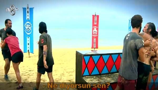 Survivor İlhan Mansız - Fatih arasında yine kavga çıktı! İlhan'ı zor tuttular! İşte yaşananlar...