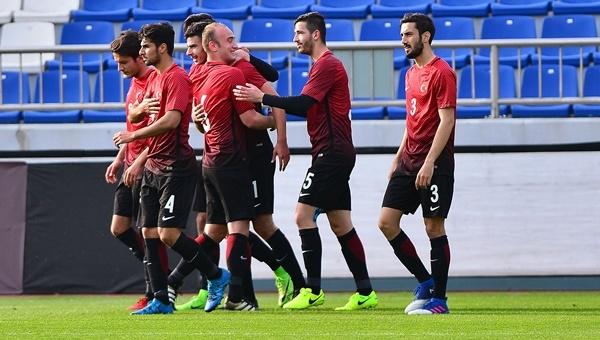 Türkiye U21 1-1 Ukrayna U21 maçı özeti ve golleri