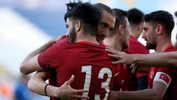 Türkiye U21 4-0 Azerbaycan U21 maçı özeti ve golleri
