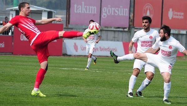 Ümraniyespor - Balıkesirspor maç özeti ve golü