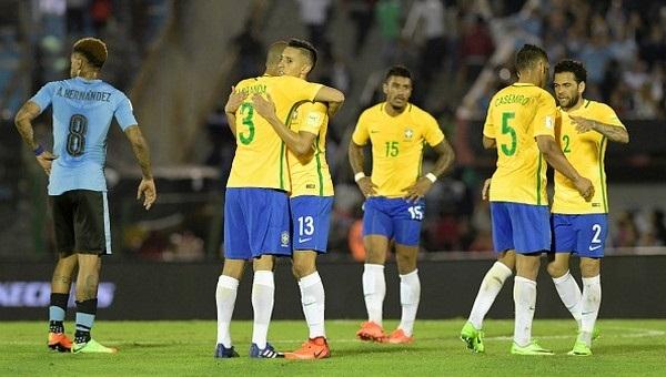 Uruguay 1-4 Brezilya maç özeti ve golleri (Uruguay Brezilya İddaa maç sonucu)