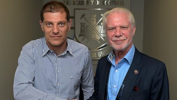 West Ham Başkanı David Gold'tan Slaven Bilic'e mesaj