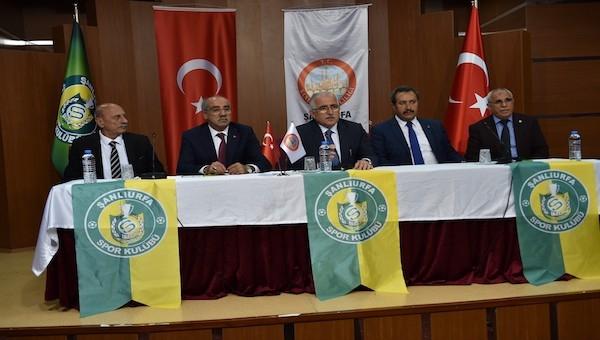 'Şanlıurfaspor'u destekliyorum' kampanyası tanıtıldı