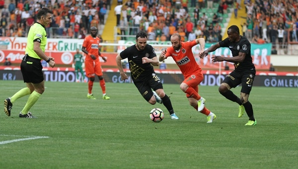 Alanyaspor 0-1 Osmanlıspor maçı özeti ve golü