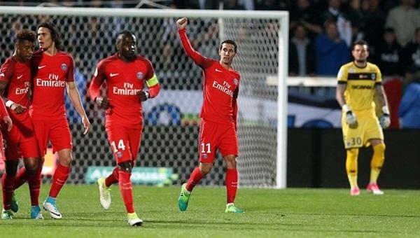 Angers 0-2 PSG maçı özeti ve golleri