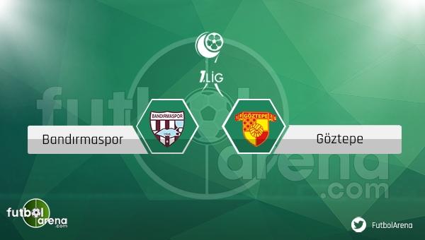 Bandırmaspor Göztepe maçı saat kaçta, hangi kanalda? - CANLI İZLE
