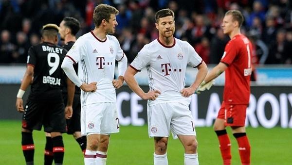 Bayer Leverkusen - Bayern Münih maçı kaç kaç bitti?
