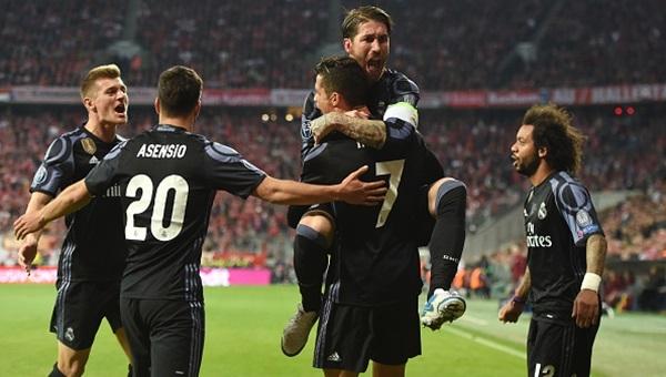 Bayern Münih 1-2 Real Madrid maçı özeti ve golleri