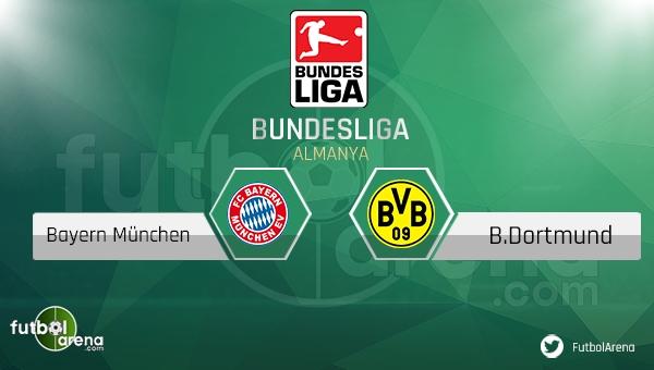 Bayern Münih - Borussia Dortmund maçı saat kaçta, hangi kanalda? (Canlı izle)