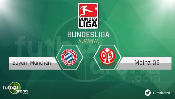 Bayern Münih - Mainz 05 maçı saat kaçta, hangi kanalda? (CANLI İZLE)