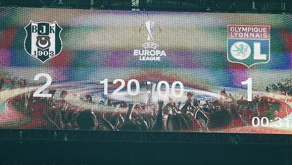 Beşiktaş - Lyon maçı bu sezonun reying rekorunu kırdı