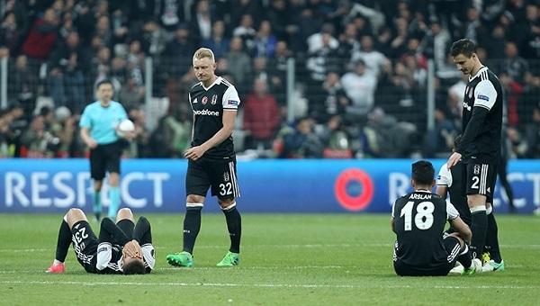 Beşiktaş Lyon'a elenmesine rağmen kasayı doldurdu