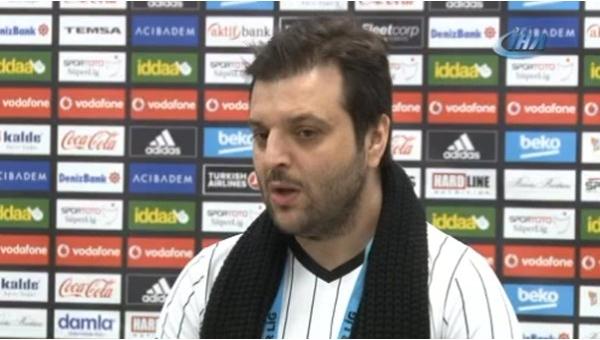 Beşiktaş yöneticisi Candaş Tolga Işık'tan Galatasaray'a gönderme