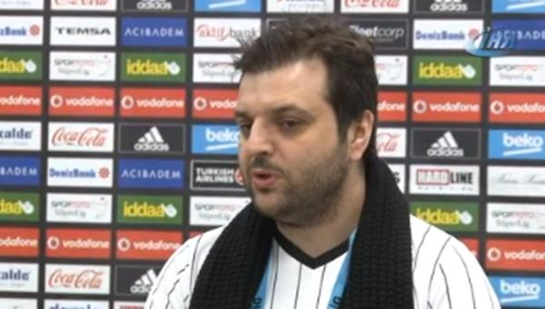 Beşiktaş yöneticisi Tolga Zengin'e sahip çıktı