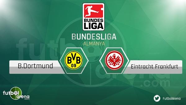 Borussia Dortmund - Eintracht Frankfurt maçı saat kaçta, hangi kanalda? (CANLI İZLE)