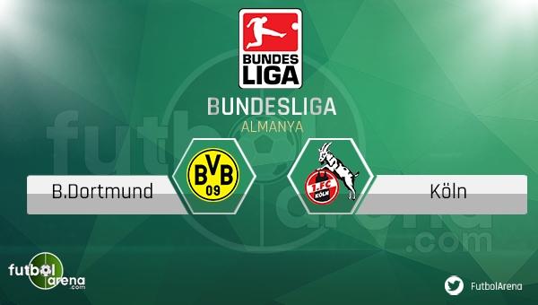 Borussia Dortmund - Köln maçı saat kaçta, hangi kanalda? (CANLI İZLE)