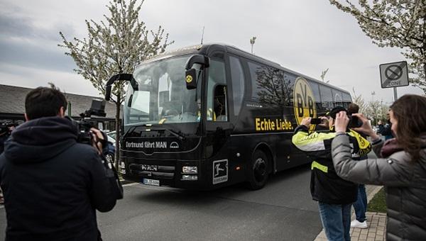 Borussia Dortmund saldırganın yakalanmasından memnun