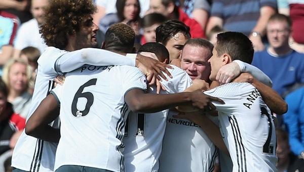 Burnley 0-2 Manchester United maçı özeti ve golleri
