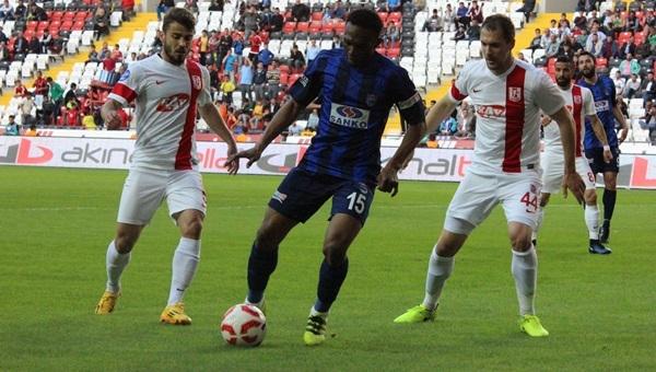 Büyükşehir Gaziantepspor 1-1 Balıkesirspor maçı özeti ve golleri
