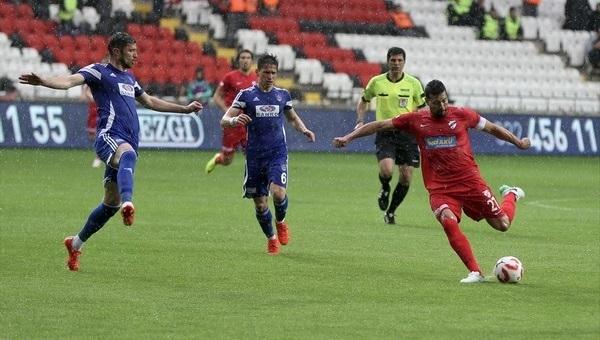 Büyükşehir Gaziantepspor 1-2 Boluspor maç özeti ve golleri