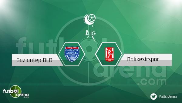 Büyükşehir Gaziantepspor - Balıkesirspor maçı saat kaçta, hangi kanalda? CANLI İZLE