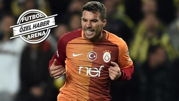 Derbi öncesi Galatasaray'daki Podolski gerçeği