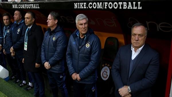 Dick Advocaat'tan derbi sonrası Galatasaray itirafı