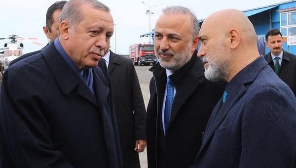 Erdoğan'dan Hikmet Karaman'a: