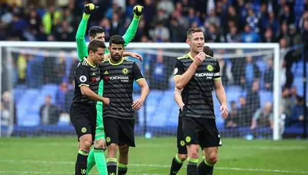 Everton 0-3 Chelsea maçı özeti ve golleri