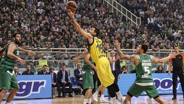 Final Four'a son adım... Fenerbahçe Yunanistan'da kazandı!