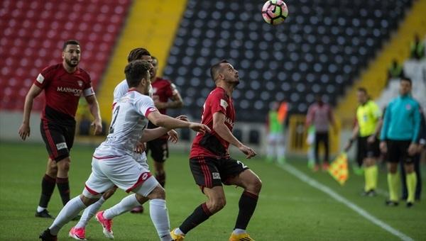 Gaziantepspor 0-1 Gençlerbirliği maçı özeti ve golü