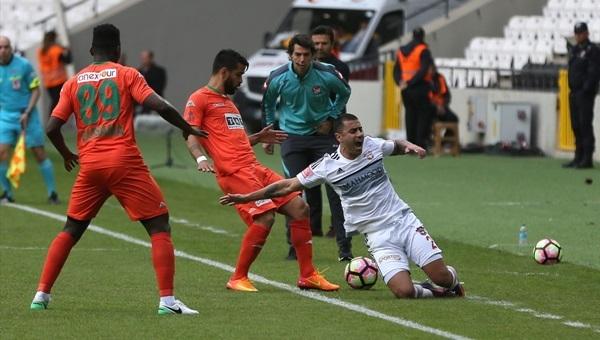Gaziantepspor 2-3 Aytemiz Alanyaspor maçı özeti ve golleri