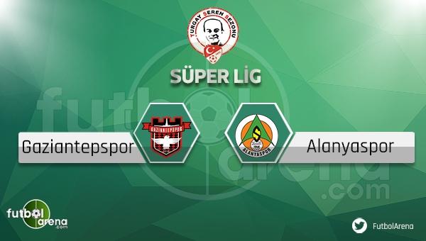 Gaziantepspor Alanyaspor Bein Sports canlı (Gaziantepspor Alanyaspor İddaa canlı skor)