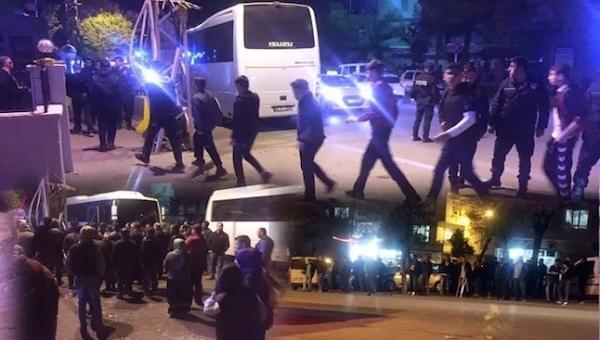 Gaziantepspor taraftarları gözaltında!