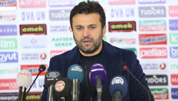 Gaziantespor taraftarlarından Bülent Uygun'a şok tezahürat