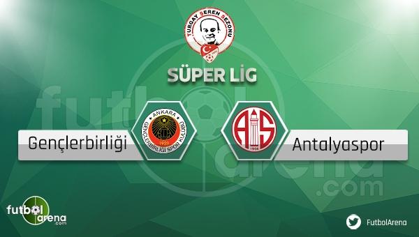 Gençlerbirliği Antalyaspor Bein Sports canlı (Gençlerbirliği Antalyaspor İddaa canlı skor)