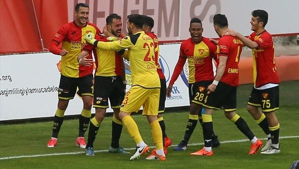 Göztepe 3-2 Adana Demirspor maçı özeti ve golleri