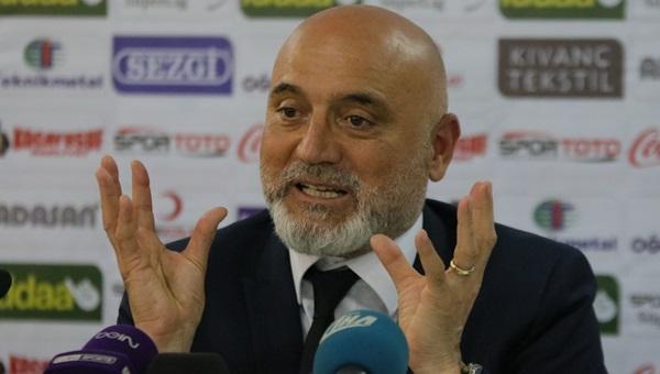 Hikmet Karaman: 'Adanaspor başkanı yüzünden bu halde'