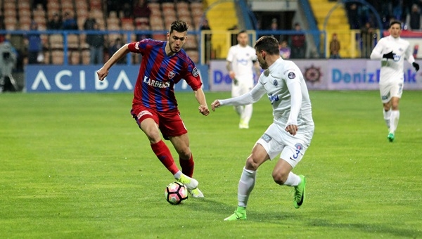 Karabükspor 0-0 Kasımpaşa maçı özeti