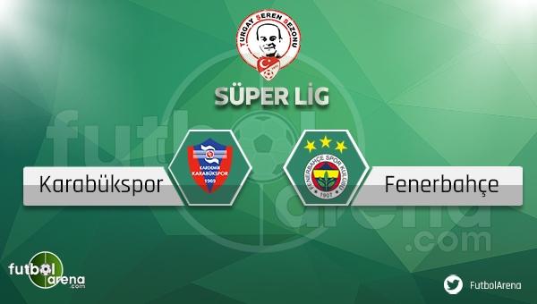 Karabükspor Fenerbahçe Bein Sports canlı (Karabükspor Fenerbahçeİddaa canlı skor)
