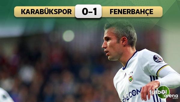Fenerbahçe, Robin van Persie ile kazandı