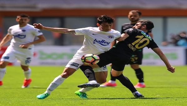 Kasımpaşa 0 - 2 Akhisar Belediyespor maç özeti ve golleri