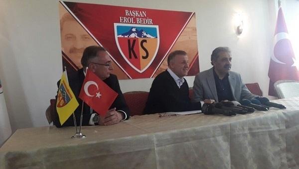 Kayserispor'da Mesut Bakkal dönemi!