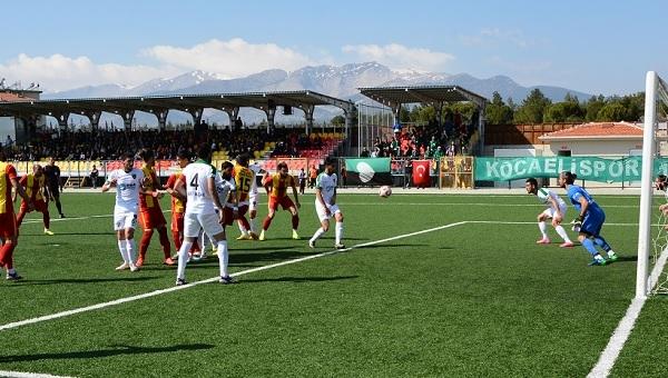 Kızılcabölükspor 2-4 Kocaelispor maç özeti ve golleri