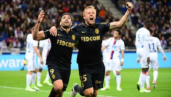 Lyon 1-2 Monaco maçı özeti ve golleri